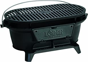 portable cast iron charcoal grill