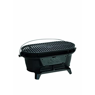 Lodge L410 Grill, 10.25  H x 8.25  W x 19  L, Black