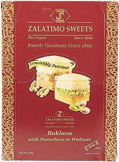 Zalatimo Baklava Tray Pack - 40 gm, Pack of 12