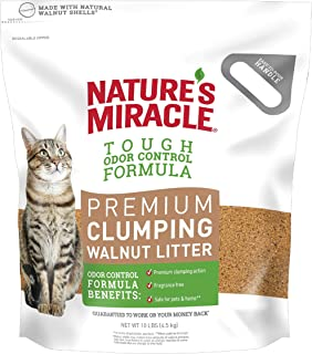 Nature's Miracle Premium Walnut Clumping Litter