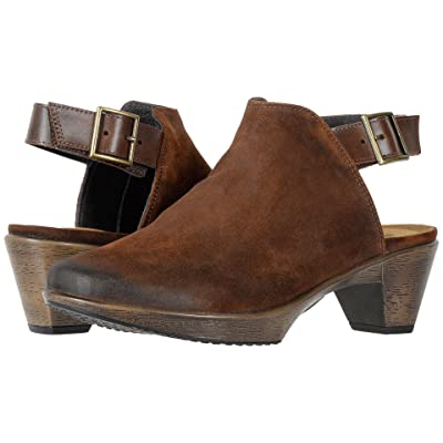 Naot Upgrade (Seal Brown Suede/Pecan Brown Leather) Women