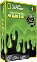 NATIONAL GEOGRAPHIC Slime DIY Science Lab – Make Gooey Glowing Slime (Green)