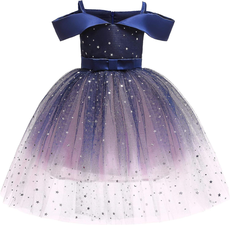 Girls Short Milwaukee Mall Petal Superior Sleeve Princess B for Party Dress Formal