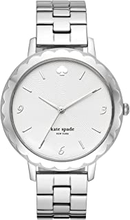 Women's Morningside Stainless Steel Scallop Topring Quartz Watch