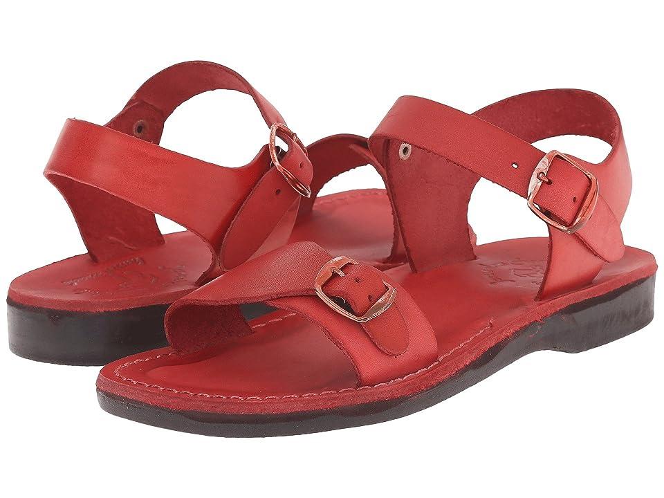 Jerusalem Sandals The Original Womens (Red) Women