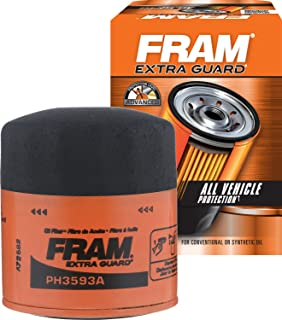 FRAM Extra Guard PH3593A, 10K Mile Change Interval Spin-On Oil Filter