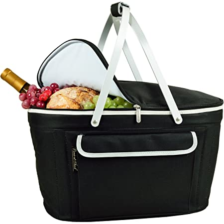Insulated Market Basket or Picnic Tote