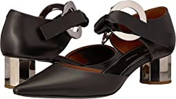 Black/Silver Heel