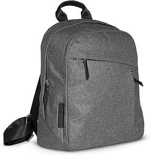 UPPAbaby Changing Backpack - JORDAN (charcoal melange/black leather)