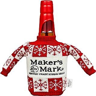 """Maker""""s Mark Bourbon Whisky, mit weihnachtlicher Geschenkverpackung, 45% Vol, 1 x 0,7l"""
