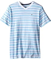 Tommy Hilfiger Kids - Jabin Stripe Tee (Big Kid)