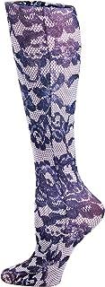 Celeste Stein Therapeutic Compression Socks, Power Lace, 8-15 Mmhg, Mild