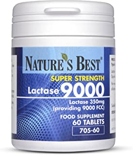 Nature's Best Lactase 9000 FCC Enzyme Units | Fast Acting