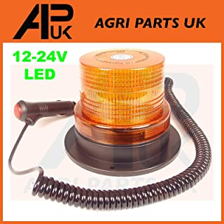 APUK Flexible LED Flashing Beacon Compatible with Case IH Fendt JCB McCormick Deutz Tractor