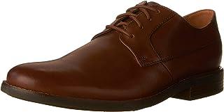 Clarks 男士 Becken Plain 德比鞋
