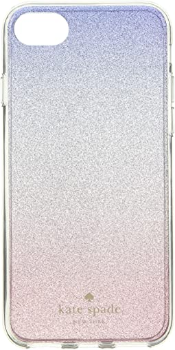 Kate Spade New York Sunset Glitter Ombre Phone Case for iPhone 8