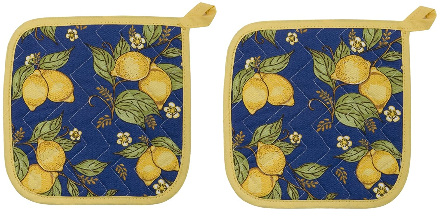 Now Designs Basic Potholders Provencal Set 2 Industry No. 1 safety of Yellow