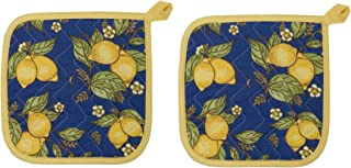 Now Designs Basic Potholders, Provencal Yellow, Set of 2
