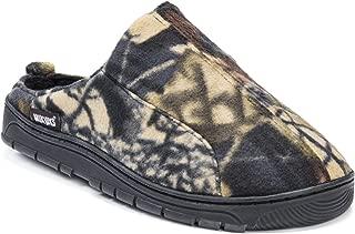 Mens Camouflage Clog Slipper