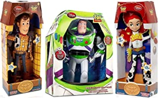 Toy Story Woody, Buzz Lightyear, Jessie Cowgirl TALKING action figure Dolls by Disney
