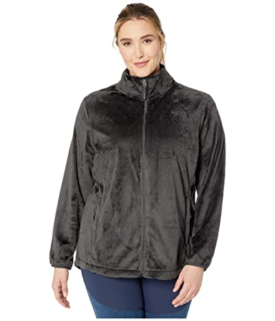 The North Face Plus Size Osito Jacket (Asphalt Grey) Women
