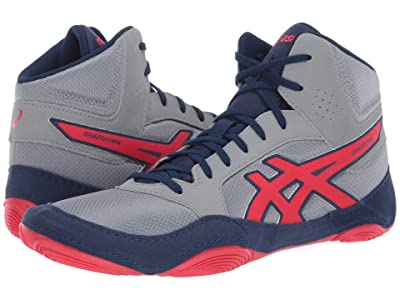ASICS Snapdown 2 (Stone Grey/Classic Red) Men