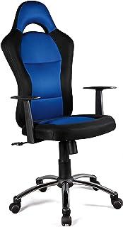 Hispanohogar Silla Oficina Martin - Negro-Azul