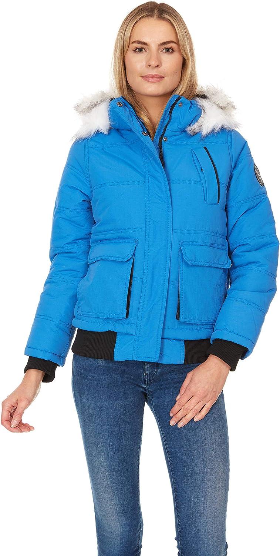 Arctic Quest Ladies Bomber Jacket