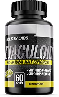 Goliath Labs - Men's Test Booster and Natural Stamina Enhancing Energy Pills – All Natural Endurance and Strength Gainer (...