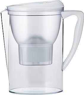comprar comparacion AmazonBasics – Jarra de filtrado de agua (2,3 L) - Blanco