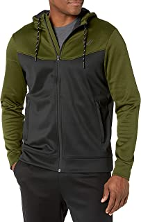 Amazon Brand - Peak Velocity Men's Quantum Fleece Full-Zip Loose-Fit Hoodie