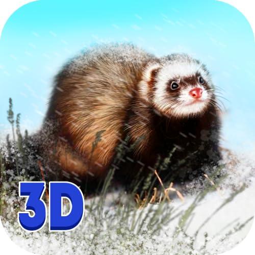 Forest Ferret Survival Simulator 3D: Wildlife Animal Weasel Game