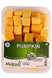 Fresh Pumpkin Cubes, 250g