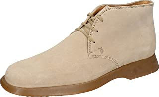 Tod's Boots Mens Suede Beige