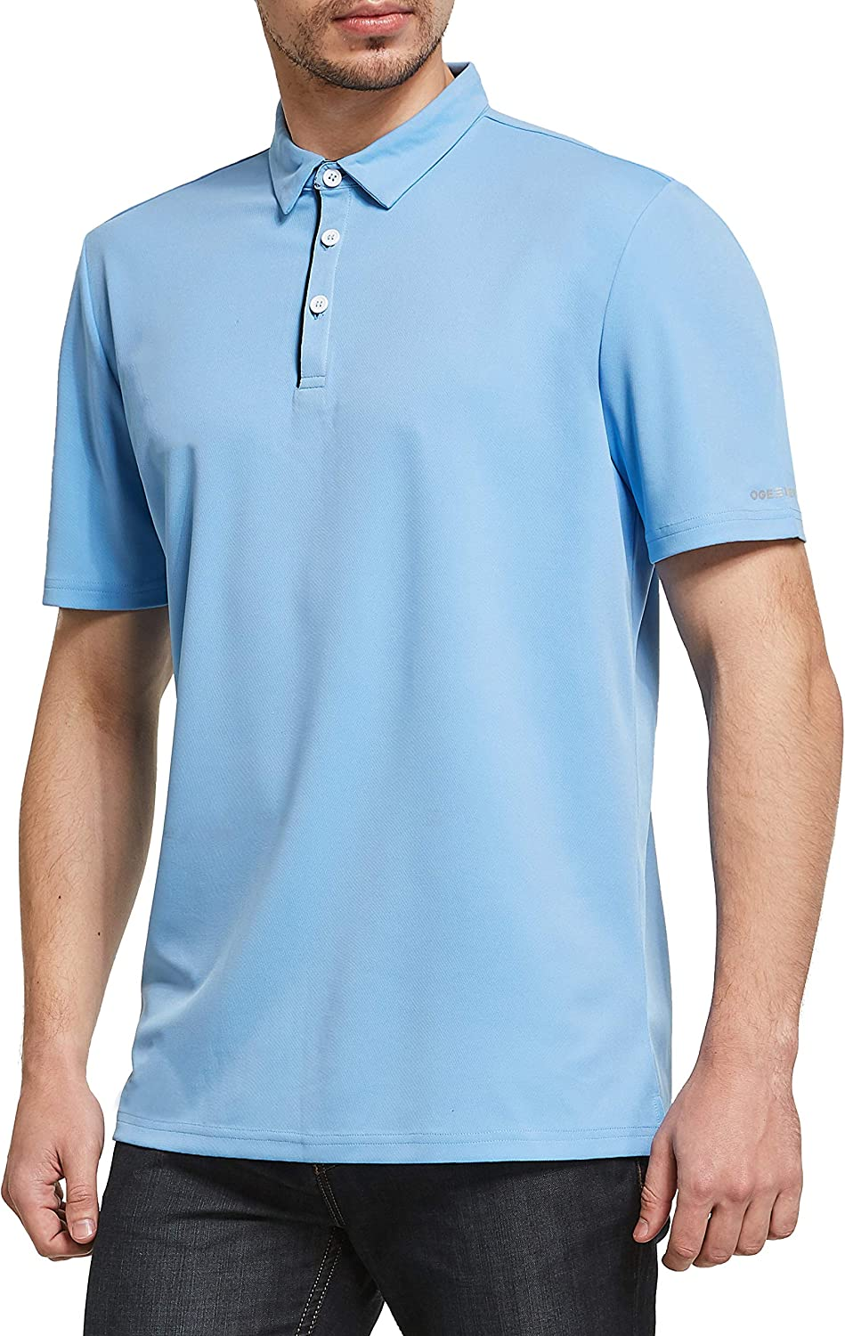 OGEENIER Men's Slim Fit Classic Short Sleeve Polo Shi Save Max 78% OFF money Pique Golf
