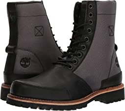 LTD Leather Fabric Boot