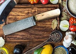 Perkin - Cuchillo de cocina (24,13 cm, acero de damasco)