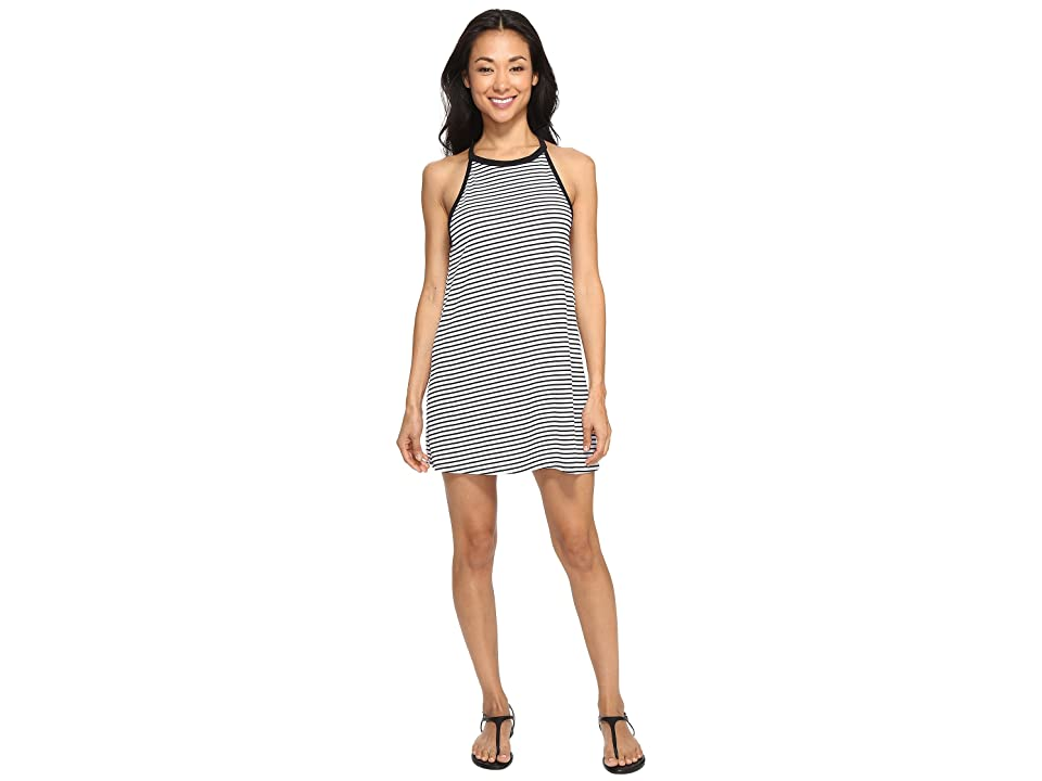 Hurley Dri-Fit Classic Dress (White Stripe) Women