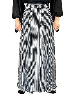 Men's Japanese Striped Hakama Pants Type