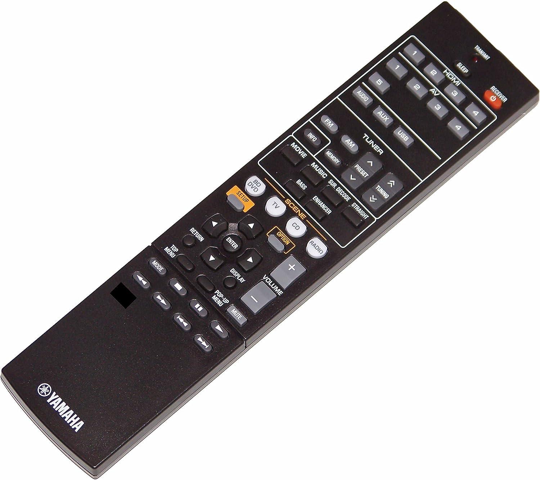 OEM Yamaha Remote Popular brand Control Shipped RXV377 RX-V377 depot RXV377BL with