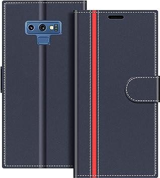 COODIO Coque en Cuir Samsung Galaxy Note 9, Étui Téléphone Samsung Note 9, Housse Pochette Galaxy Note 9 Fonction Stand Etui Coque pour Samsung Galaxy ...
