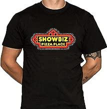 Dark Vortex Showbiz Pizza Place T-Shirt - Defunct Restaurant Chain