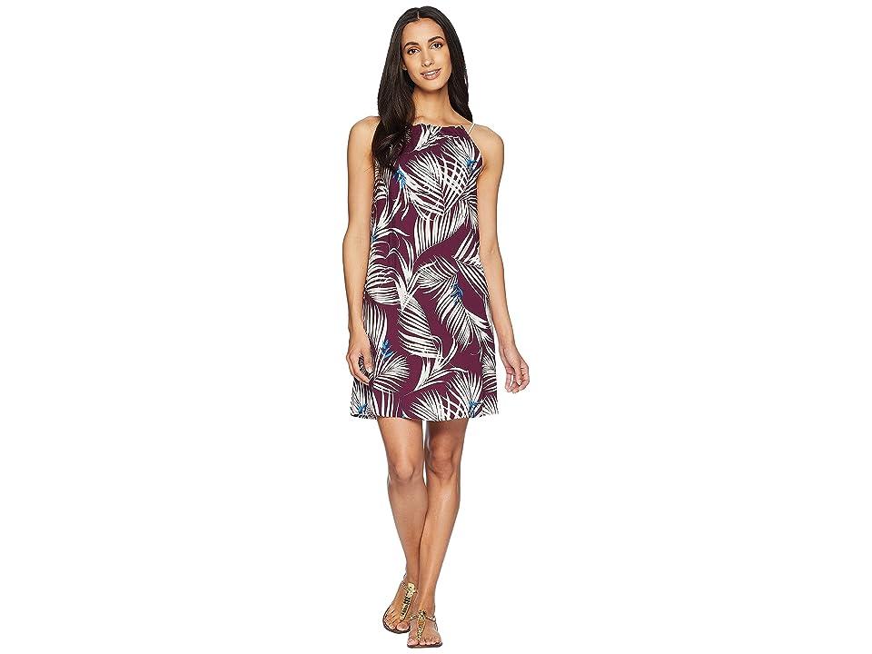 Tavik Zita Mini Dress (Latona Palm Merlot) Women