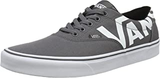 Vans MN Doheny, Men's Shoes, White ((Big Logo) pewter/white VF4), 8 UK (42 EU)