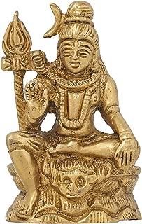 ShalinIndia Small Shiva Statue Idol for Car