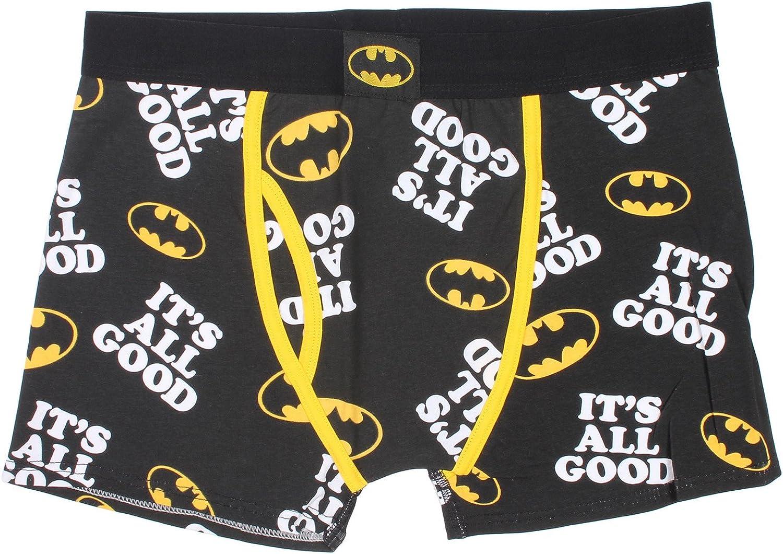 BATMAN Men's DC Comics It's All Good Boxer Brief