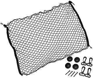 汎用 ルーフネット (Mサイズ 70×100cm) ルーフキャリアネット 天井 荷物落下防止 固定フック 収納 車中泊 ドライブ フォルクスワーゲン クロスゴルフ