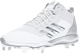 adidas Men's PowerAlley 5 Mid Baseball Shoe