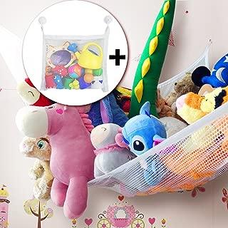 2PCS /Übergro/ße Leinwand 65 * 95 * 55 AIBAB Kinder Spielzeug Aufbewahrungstasche Wenn Gef/üllt Wird Es EIN Sitzsack