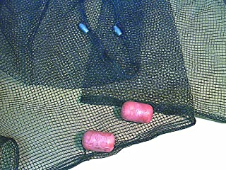 Frabill Minnow Seine Net, 4 X 4-Feet, Camo Black